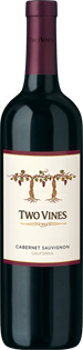Two Vines Cabernet Sauvignon 2014 750ml - Case of 12